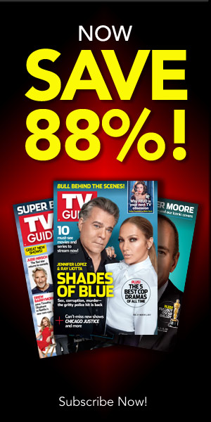 Subscribe to TV Guide Magazine and Save 88%