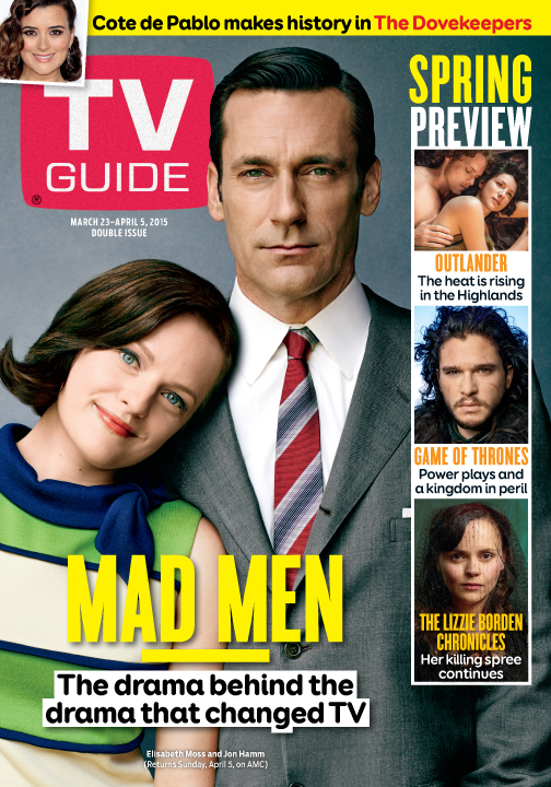 mad men the drama behind the drama that changed tv the official rh tvguidemagazine com tv guide magazine subscription renewal tv guide magazine subscription special