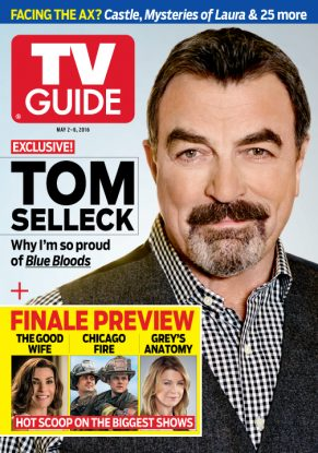 Cover photo of Tom Selleck by Jeff Lipsky/CPI for TV Guide Magazine