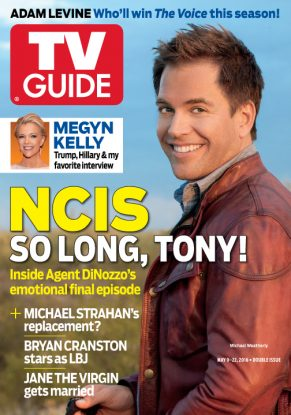 Cover photograph of Michael Weatherly by Jeff Lipsky/Corbis