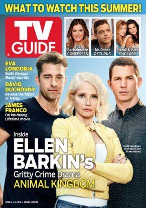 Cover photograph of Scott Speedman, Ellen Barkin and Shawn Hatosy by Steven Lippman/TNT