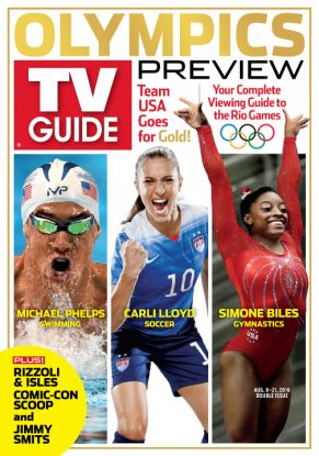 Cover photographs: Stacy Revere/GettyImages (Phelps); Alexis Cuarezma/Sports Illustrated/Countour by GettyImages (Lloyd); Gregory Bull/AP Photo (Biles)