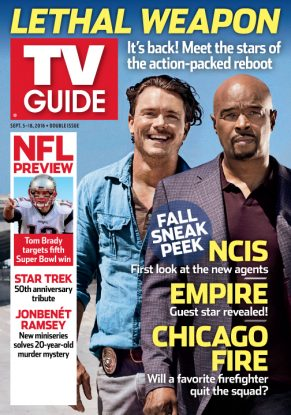 Cover photo of Lethal Weapon's Clayne Crawford and Damon Wayans by Brian Bowen Smith/Fox