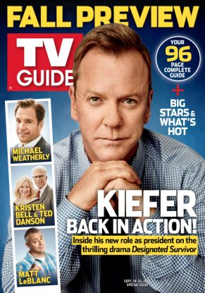 Cover photo of Kiefer Sutherland by Maarten de Boer