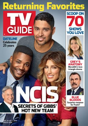 Cover photo of Wilmer Valderrama, Duane Henry and Jennifer Esposito by Kevin Lynch