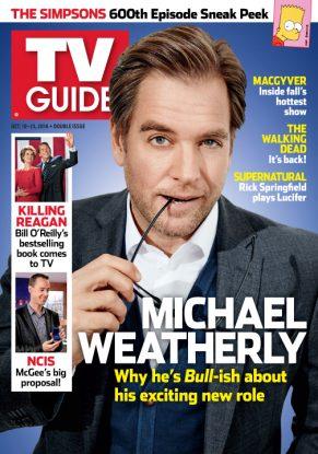 Cover photo of Michael Weatherly by Maarten de Boer