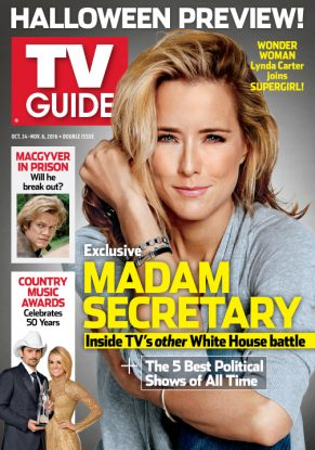 Cover photo of Téa Leoni by Yu Tsai/Contour by Getty Images