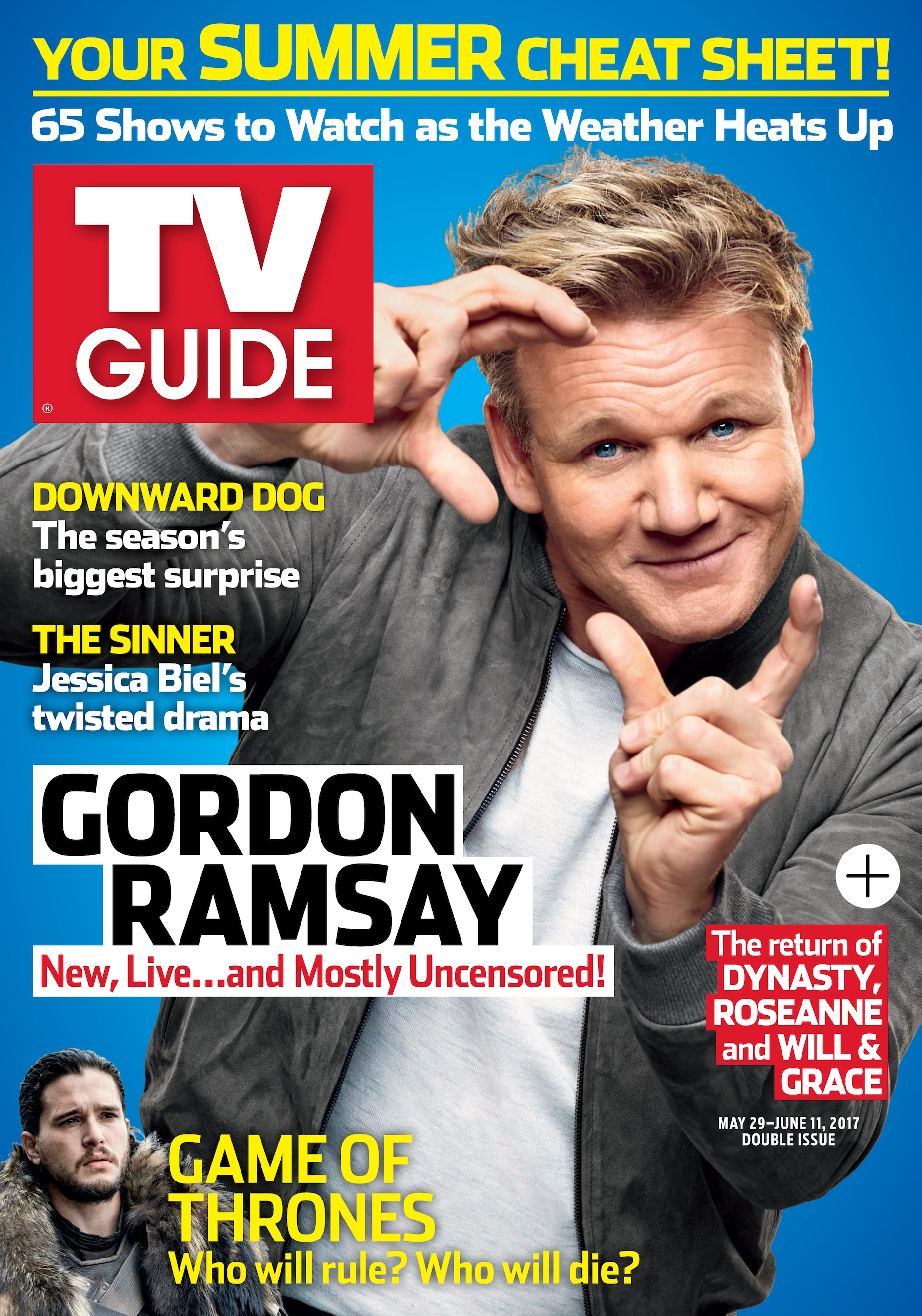 Gordon Ramsey Is All Fired Up! The Super-Chef Gets Summer Cooking ...