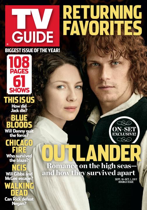 Outlander' joins 60 other returning favorites in tv guide.