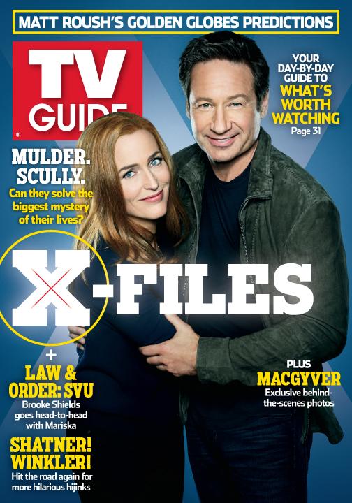 X-files season guide.