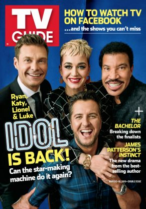 Ryan Seacrest, Katy Perry, Lionel Richie, Luke Bryan