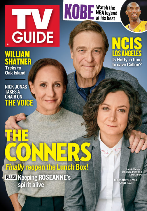 TV Guide Cover - The Conners - February 17, 2020