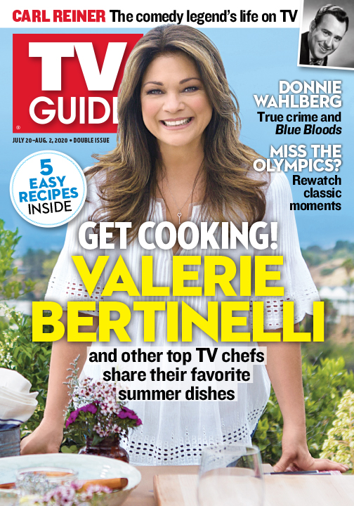 TV Guide - Get Cooking with Valerie Bertinelli - July 20, 2020