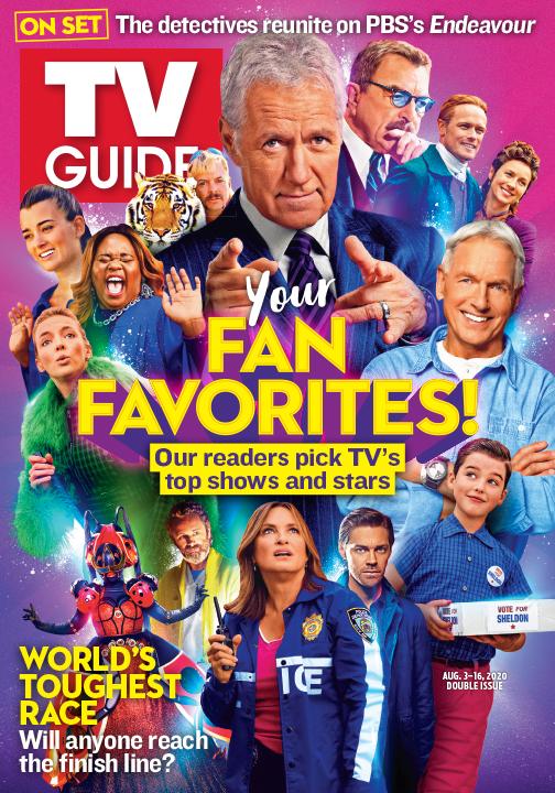 TV Guide - Your Fan Favorites - August 3, 2020