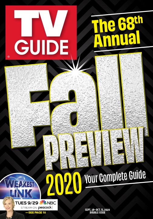 TV Guide - Fall Preview Cover - September 28, 2020