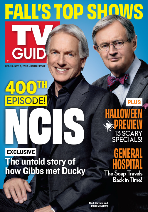 TV Guide - NCIS Cover - October 26, 2020