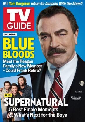 TV Guide - Blue Bloods Cover - December 7, 2020