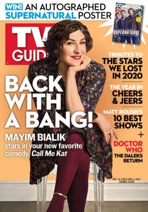 TV Guide - Call Me Kat Cover - December 21, 2020