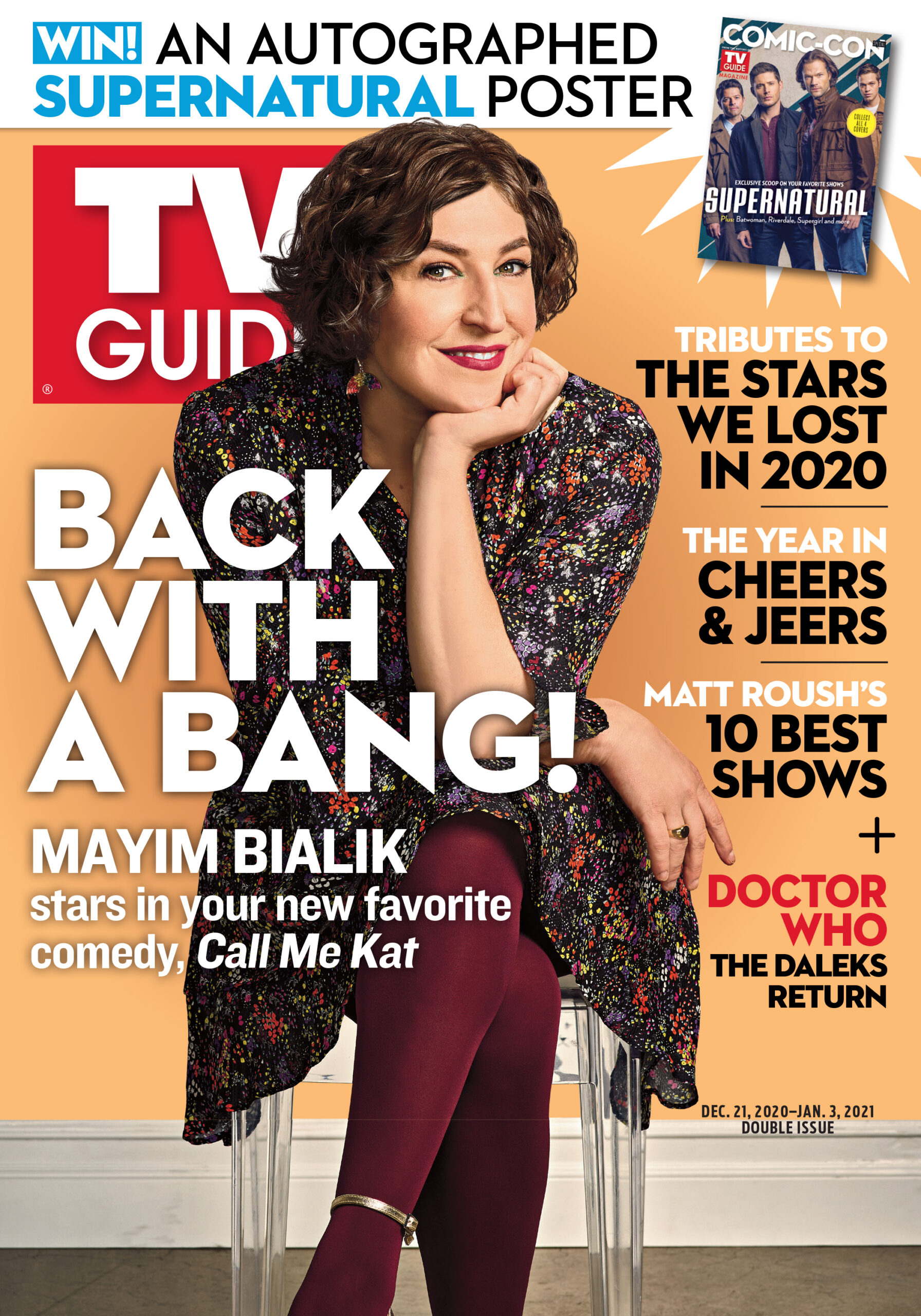 TV Guide - Call Me Kat Cover - December 21, 2020