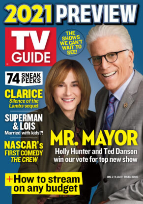 TV Guide - Mr. Mayor Cover - January 4, 2021
