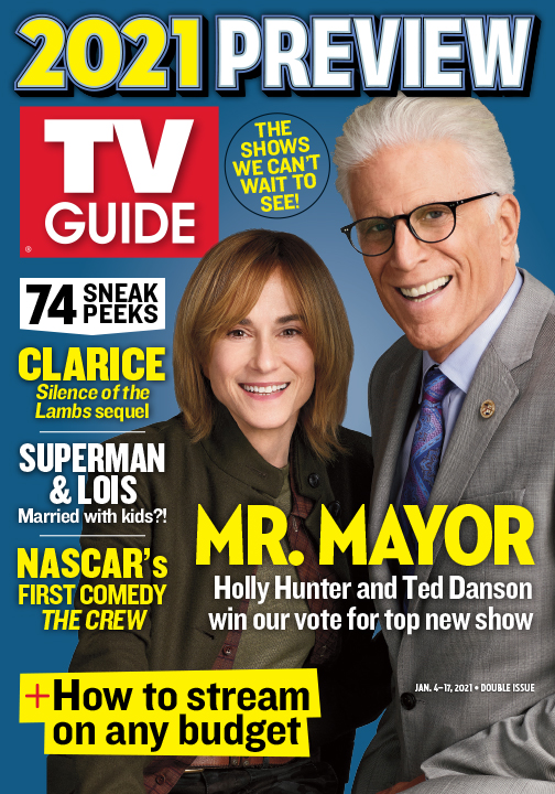 TV Guide - Mr. Mayor Cover - January 4, 2021