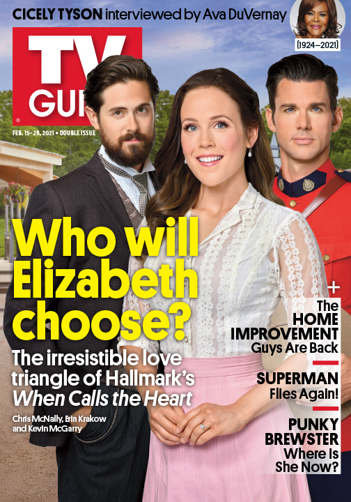 TV Guide - When Calls the Heart Cover - February 15, 2021