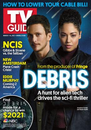 TV Guide - Debris Cover - March 1, 2021