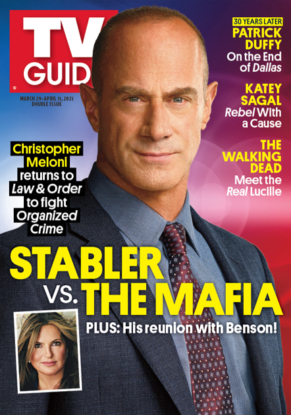TV Guide - Cover Stabler vs. The Mafia - March 29, 2021