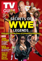 TV Guide - Cover Secrets of WWE Legends - April 12, 2021