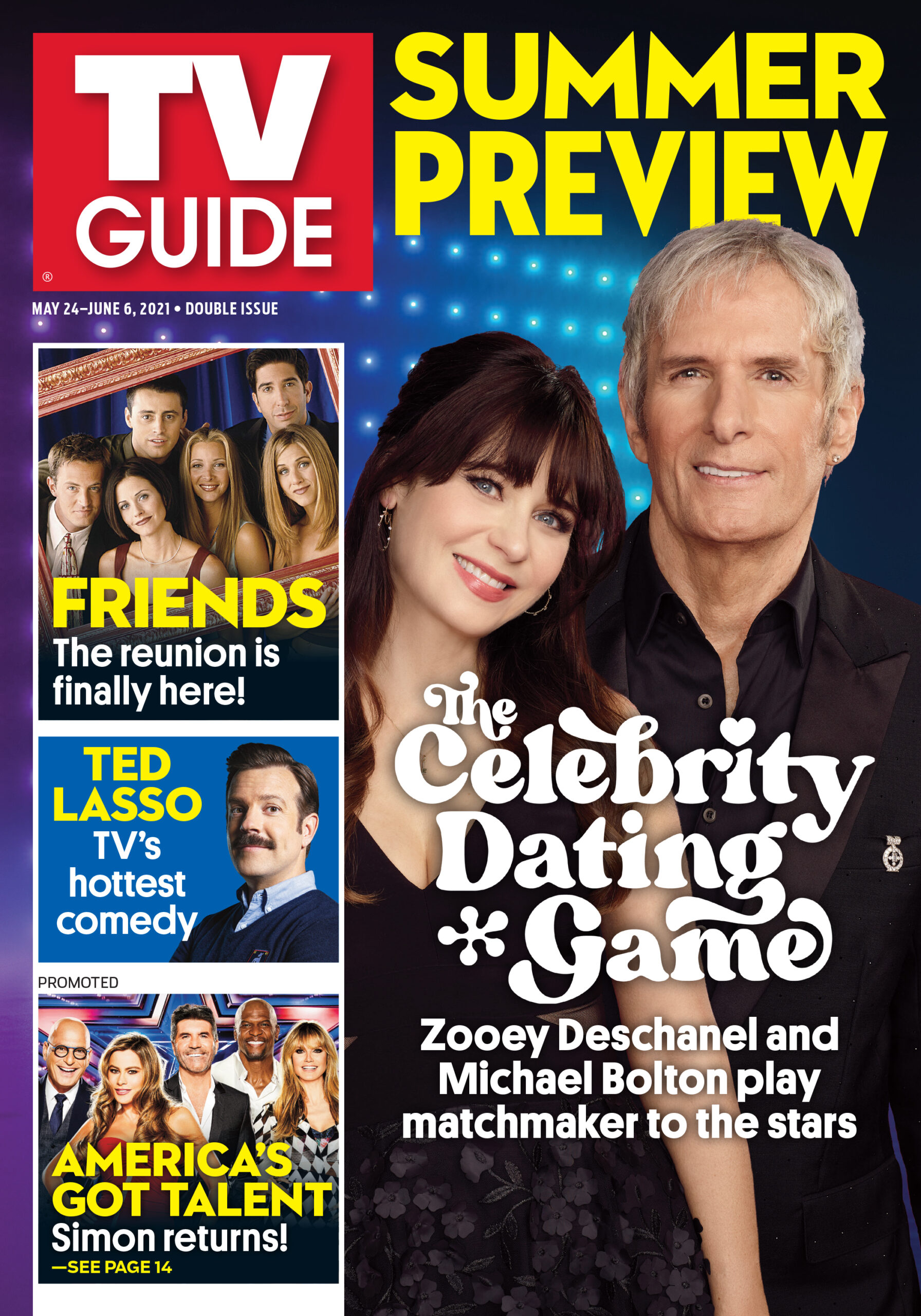 TV Guide - Cover The Celebrity Dating Game - May 20, 2021
