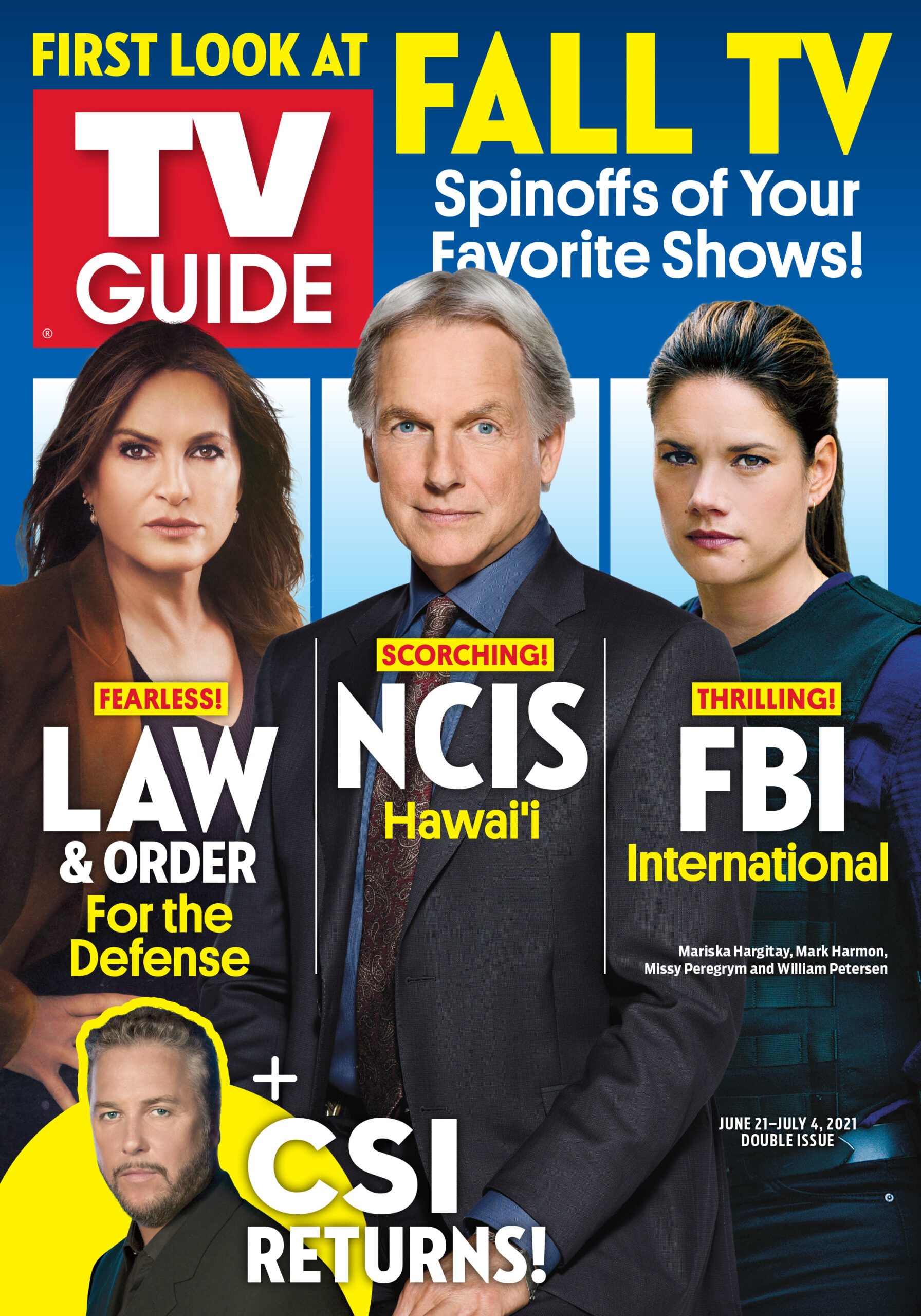 TV Guide - Cover First Look at Fall TV - June 7, 2021