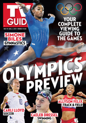 TV Guide - Cover Olympics Preview - July 15, 2021