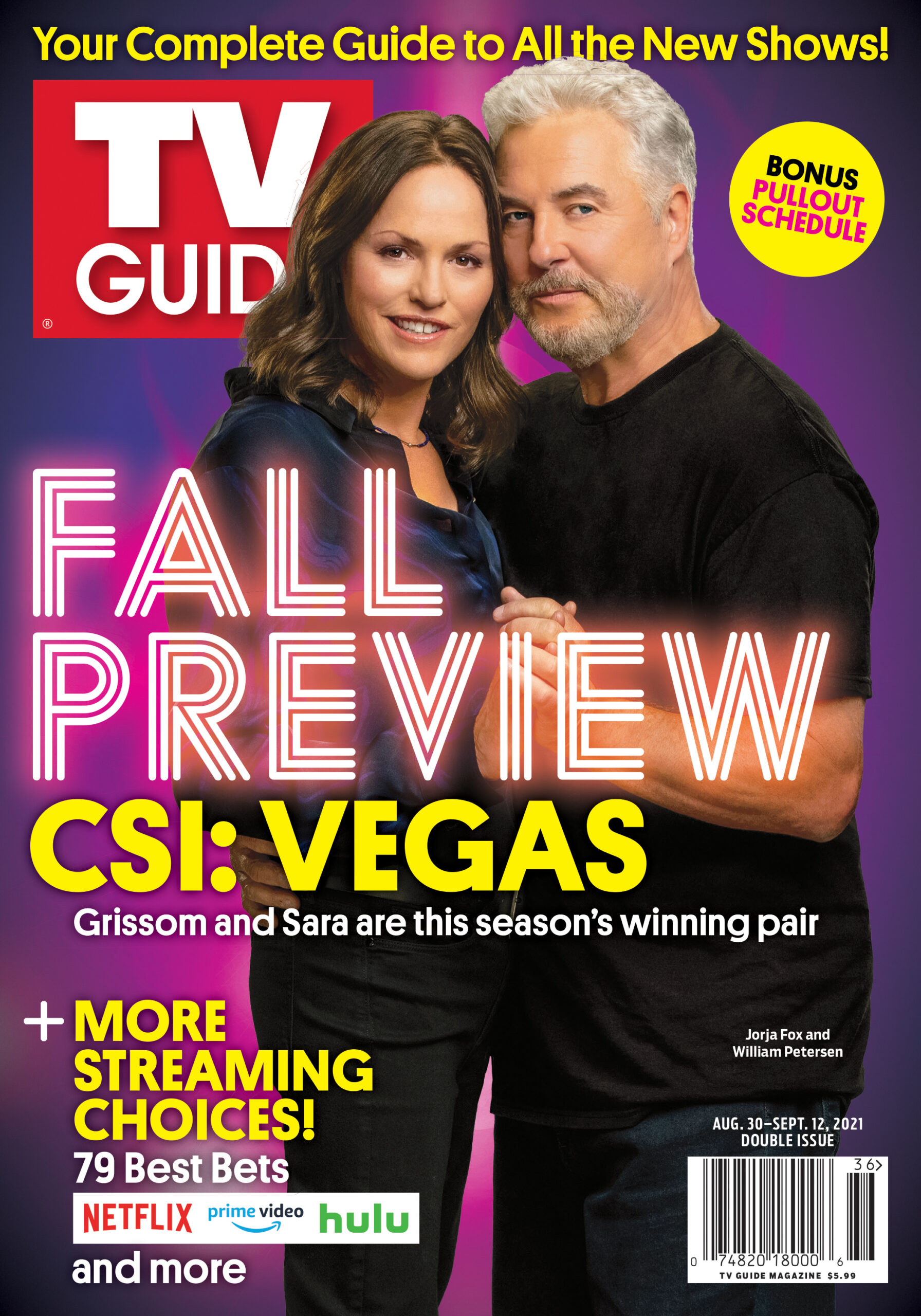 TV Guide - Cover Fall Preview - August 26, 2021