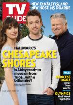 TV Guide - Cover Hallmark's Chesapeake Shores - July 29, 2021