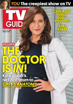 TV Guide - Cover Grey's Anatomy - October 7, 2021